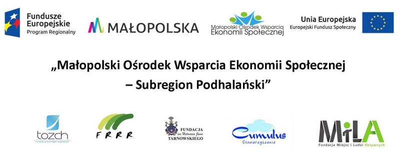 Małopolski Ośrodek Wsparcia Ekonomii Społecznej - Subregion Podhalański